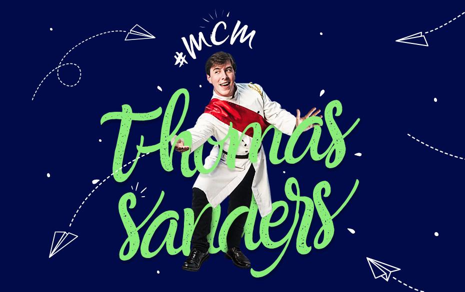 Thomas Sanders artwork for Sweety High's #MCM