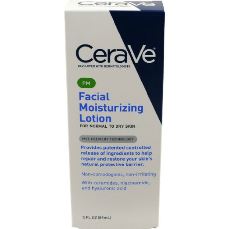 Cerave facial moisturizing lotion for night