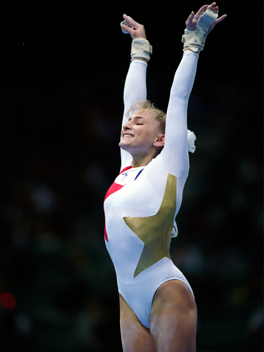 USA Gymnast at 1996 Olympics in Atlanta
