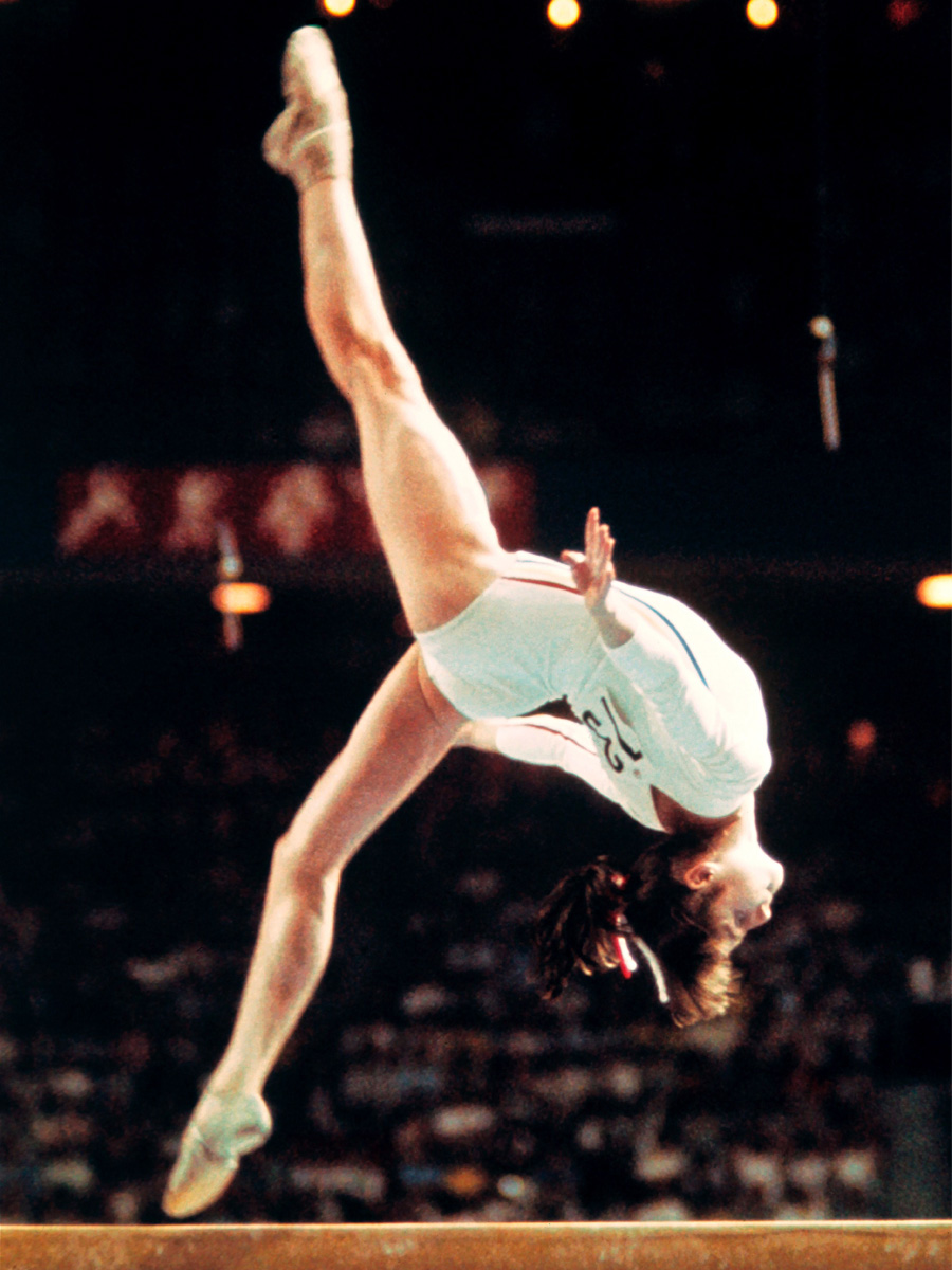 Nadia Comaneci 1976 Olympic Games