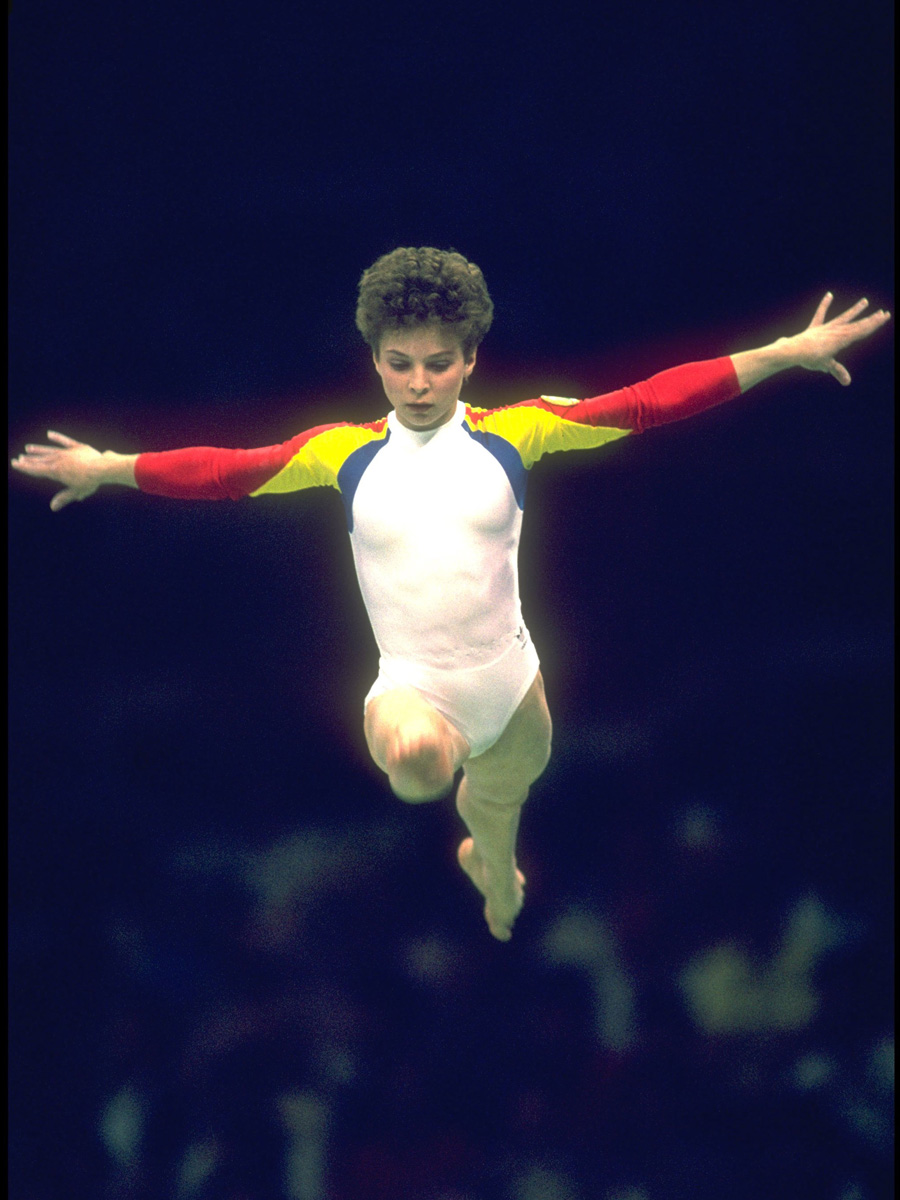 Romanian Gymnast 1988 Olympic Games