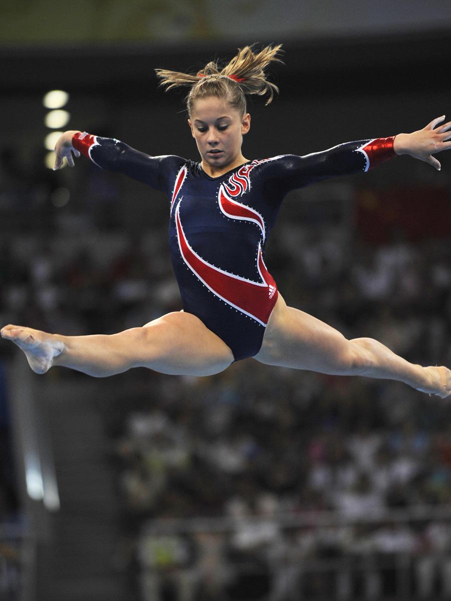Shawn Johnson Team USA Gymnast Olympics 2008