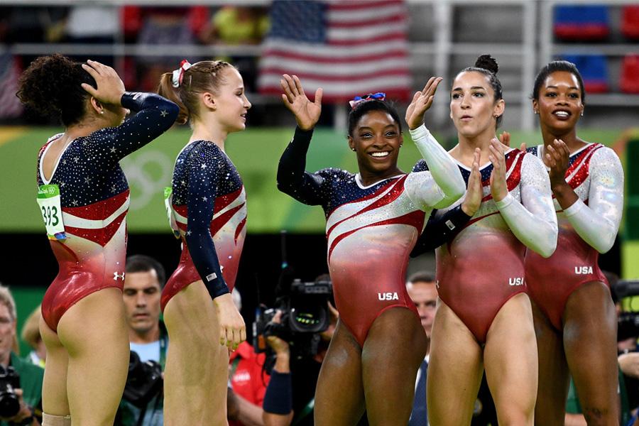 Team USA Olympic Gymnastic Team 2016