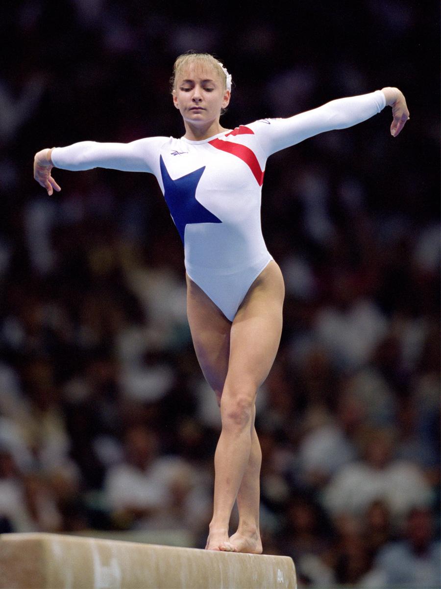 Gymnast Team USA 1996 Olympics in Atlanta, Georgia