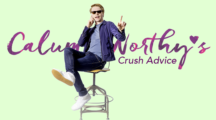Calum Worthy crush advice artwork