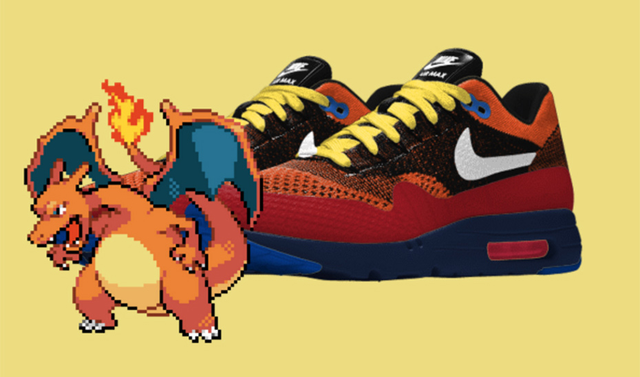 Charizard PokeID Pokémon Nike shoes