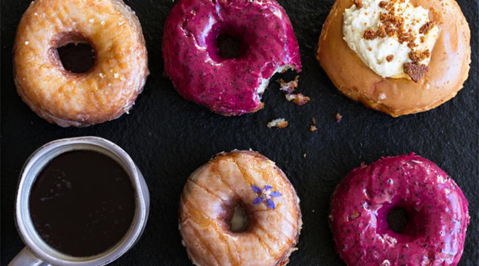 Instagram picture of Sidecar Donuts