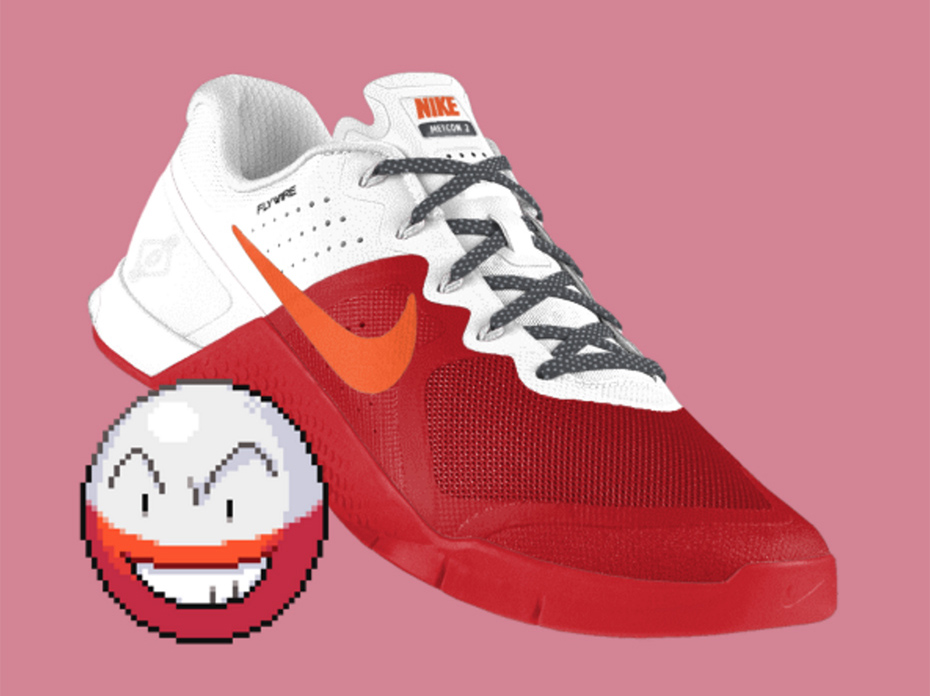 Electrode PokeID Pokémon Nike shoes