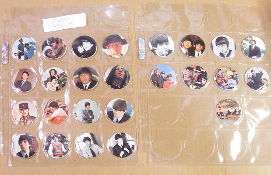 The Beatles POGs charge on ebay