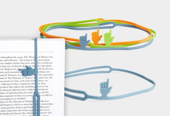 Fingerprint bookmark from Barnes & Noble