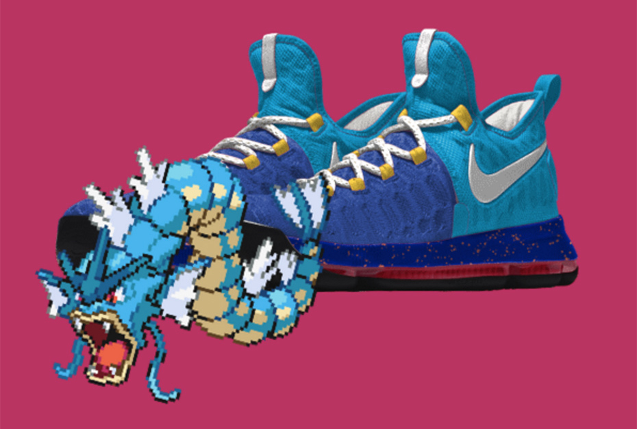 Gyarados PokeID Pokémon Nike shoes