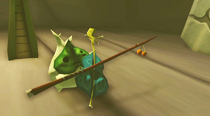 Makar in The Legend of Zelda: Wind Waker HD