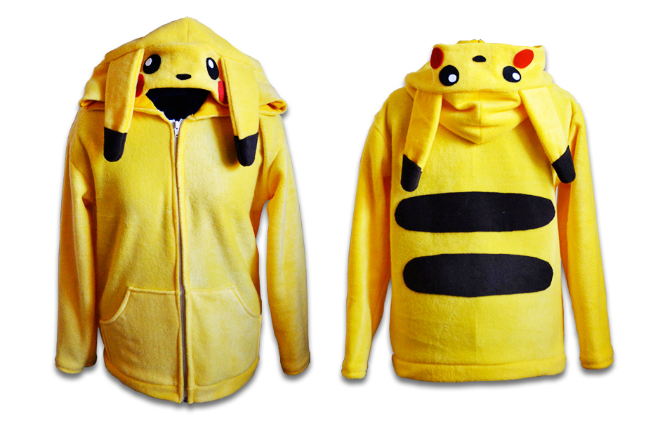Pokémon Pikachu hooded sweater