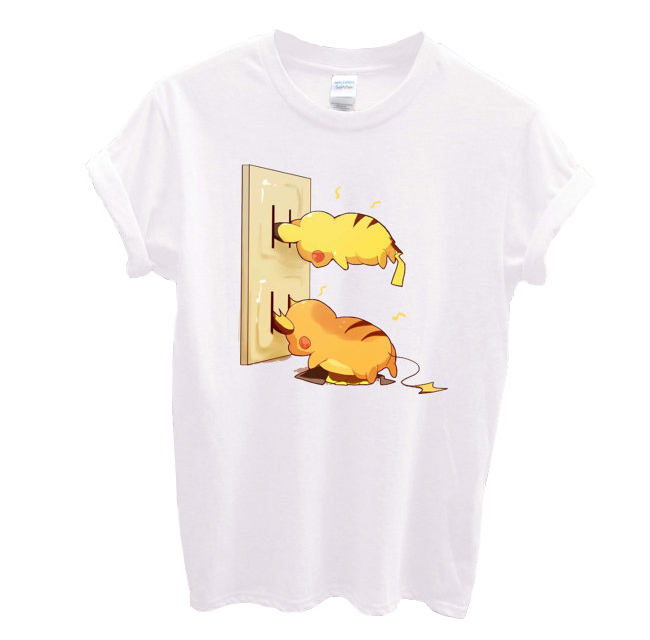 Pokémon Pikachu plugin T-shirt