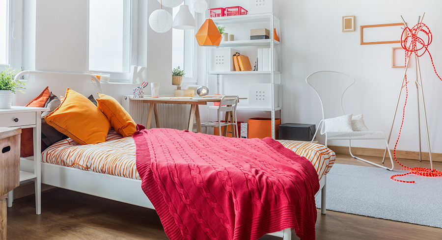 pink and orange bedroom feng shui tips to improve your mood and enhance your space 16688