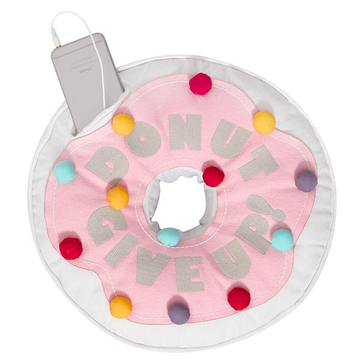 Plush donut speaker from PBTeen