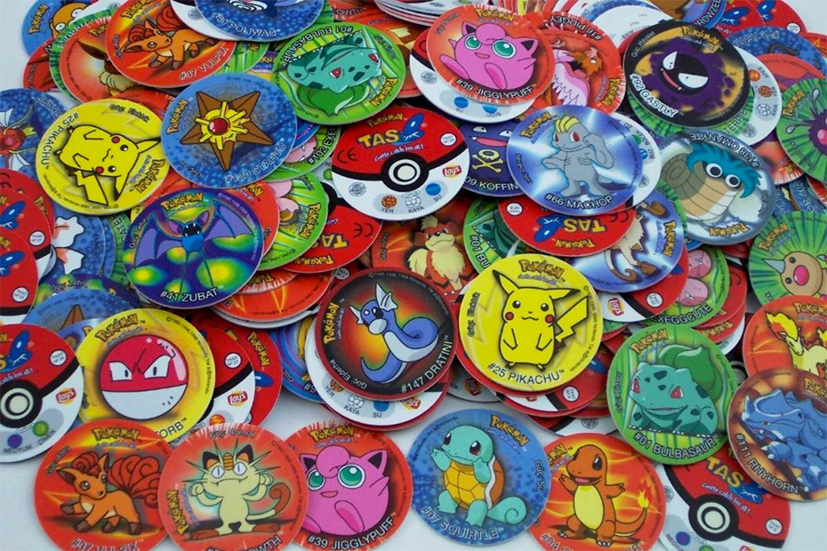 Pokémon-themed POG discs