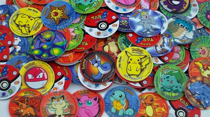 Pokemon character Pogs