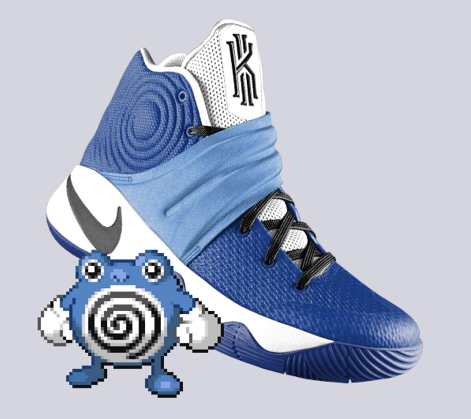 Poliwhirl PokeID Pokémon Nike shoes