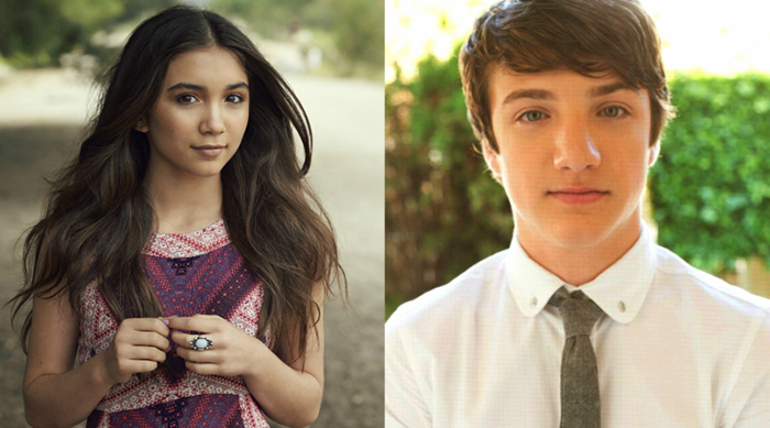 Rowan Blanchard and Jake Short