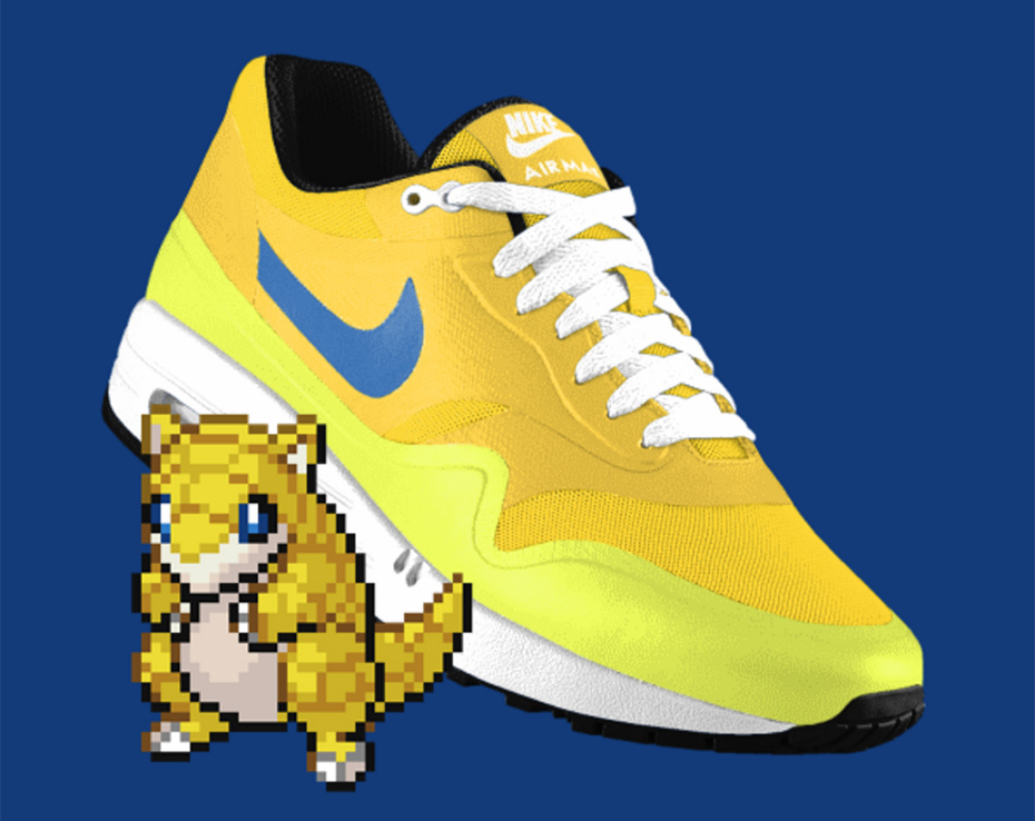 Sandshrew PokeID Pokémon Nike shoes
