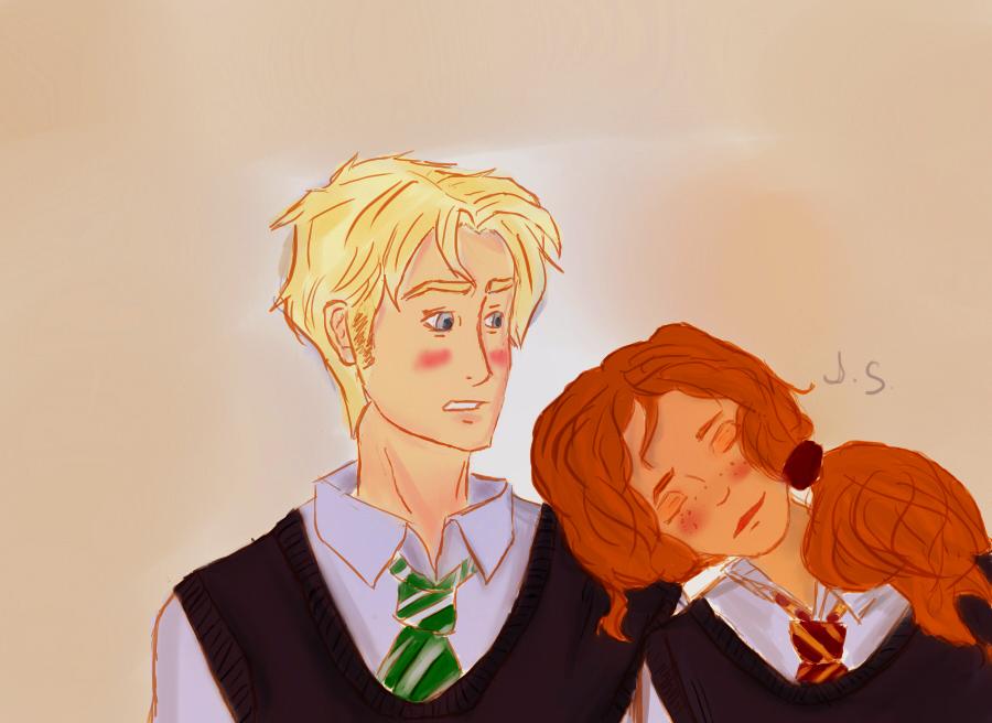 Fan Art To Make You Ship Scorpius Malfoy Rose Weasley