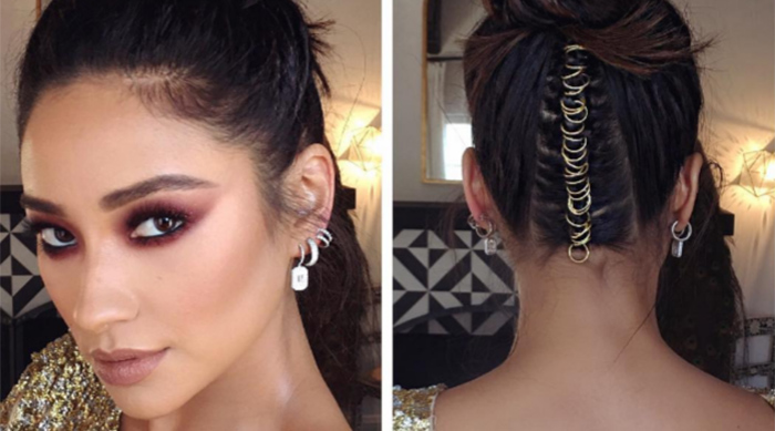 Shay Mitchell's Teen Choice Awards Hair Style