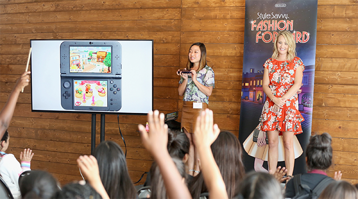 Krysta Yang and Ashley Fultz host Nintendo Style Savvy: Fashion forward Event