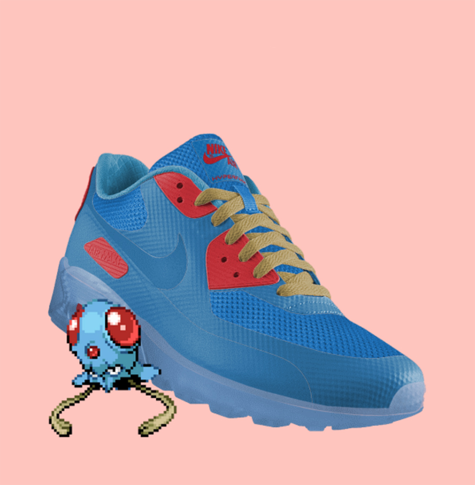 Tentacool PokeID Pokémon Nike shoes