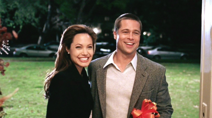 Brangelina still from Mr and Mrs Smith