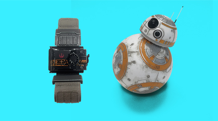 BB8 force band and Sphero BB8