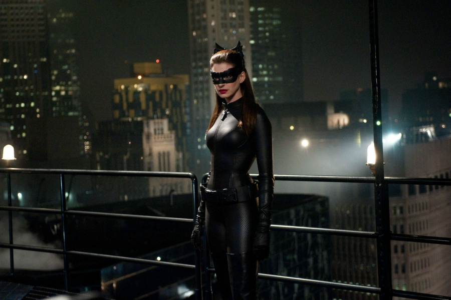 Still of Cat Woman from the Dark Knight Rises