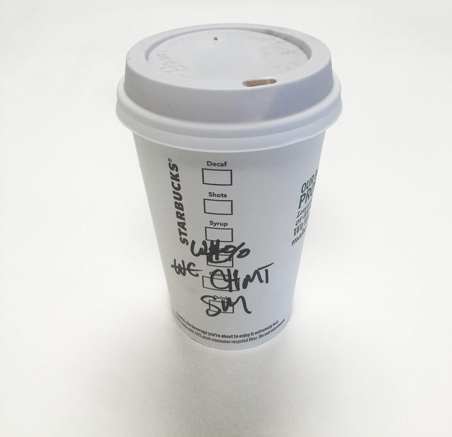 Starbucks chile mocha steamer cup