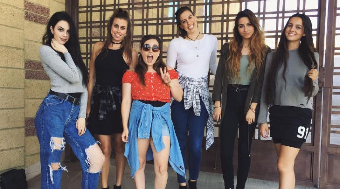 Cimorelli group photo from Instagram