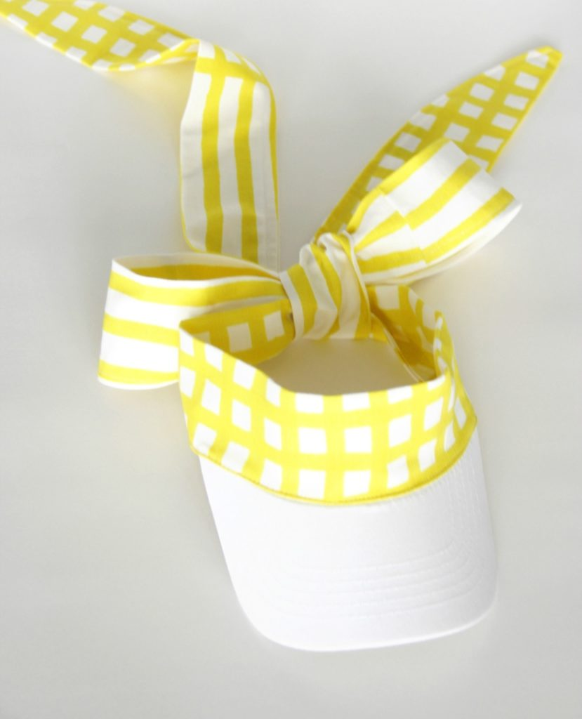 DIY Fabric Visor from Sewing Rabbit