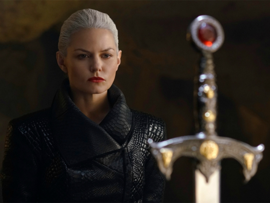 Still from Emma Swan as the Dark One on Once Upon a Time