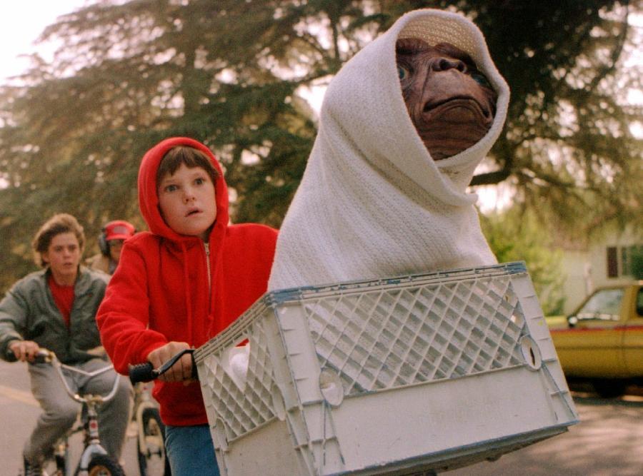 "Still from the movie ""E.T."""