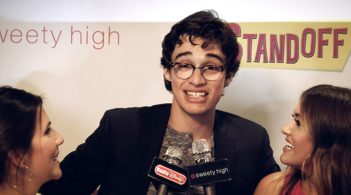 """Joey Bragg at """"The Standoff"""" premiere"""