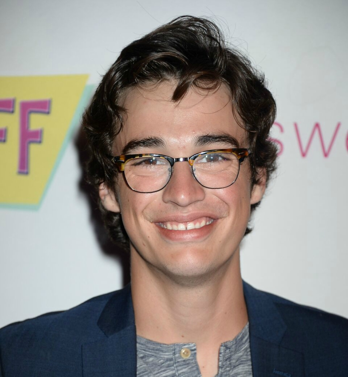 Joey Bragg at The Standoff Premiere