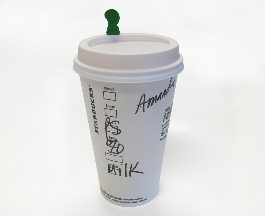 Starbucks pumpkin spice steamer cup