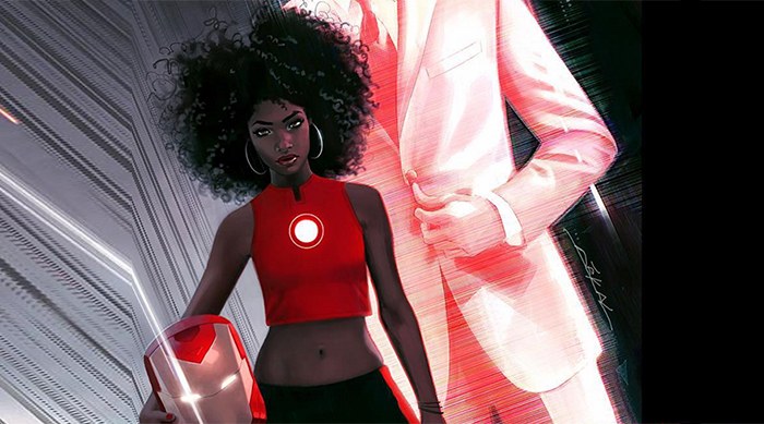 Riri Williams is Ironheart, the new Iron Man