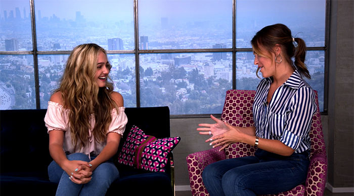 Sophie Reynolds and Cassie DiLaura on SBTV
