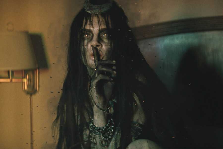 Still of Cara Delevingne as Enchantress from Suicide Squad