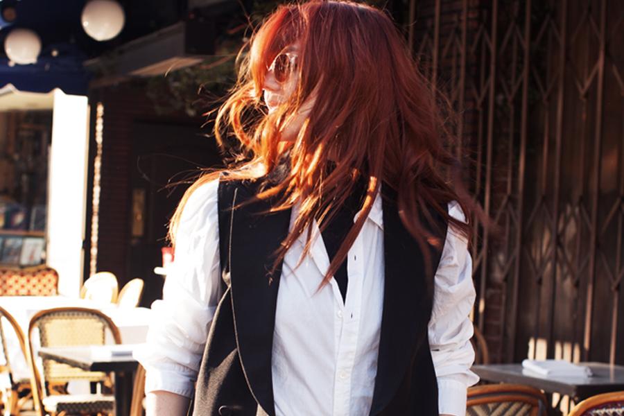 Allison McNamara red hair flip