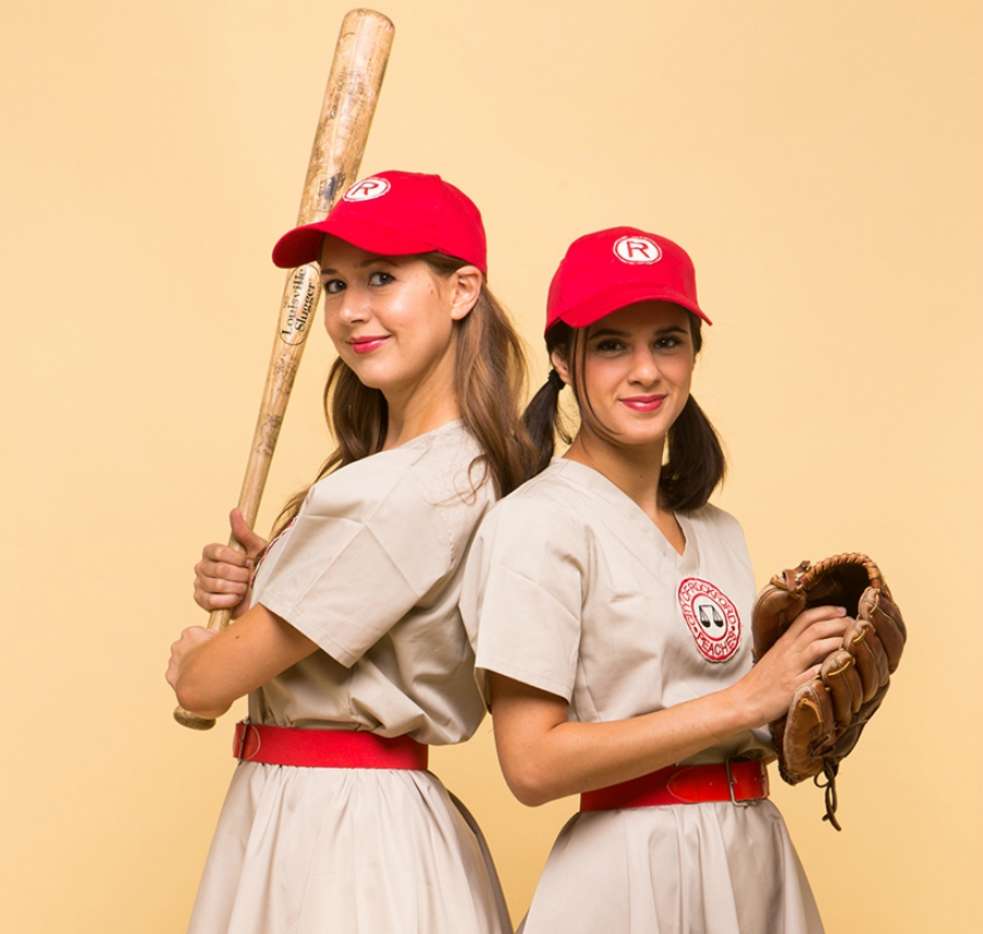 """""""A League of Their Own"""" DIY costume"""