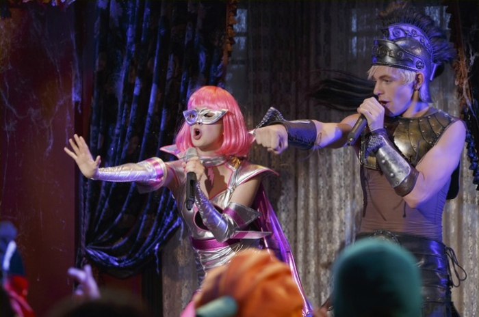 Austin & Ally Costumes and Courage Halloween Episode