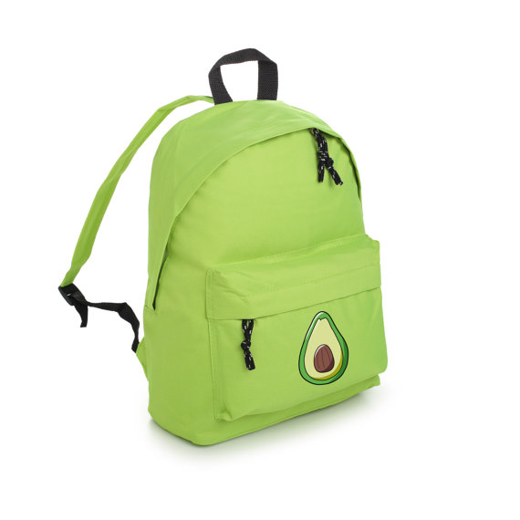 Avocado backpack from Etsy