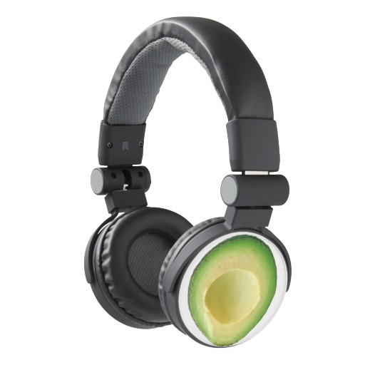 Avocado headphones