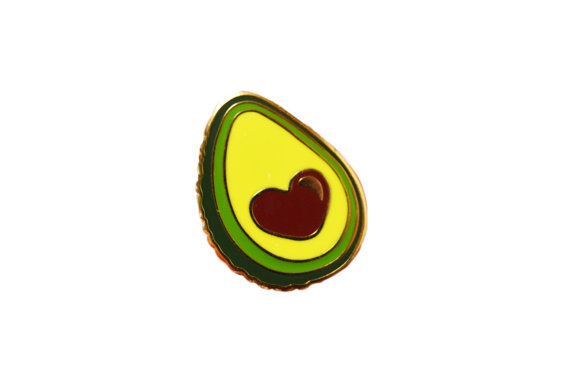 Avocado Pin from Etsy