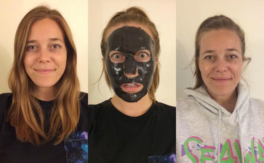 Boscia hydrogel mask